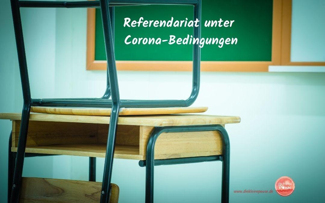 Referendariat unter Corona-Bedingungen